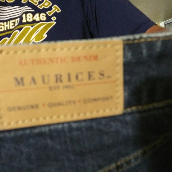Maurices Denim - Maurices size 15/16 long new denim